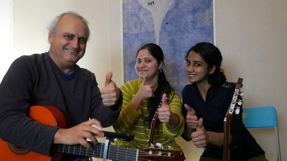 world music ensembles melbourne guitar lessons