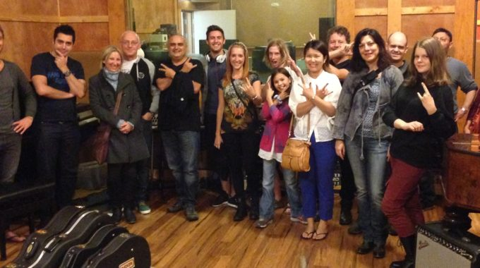 Melbourne Creative Guitar School Concert 2014