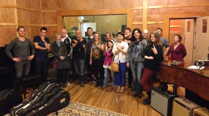 Black Pearl Recording Studios Visited By Creative Guitar School