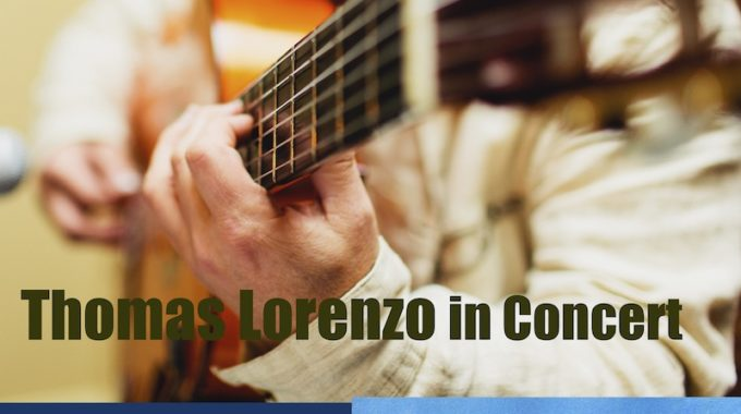 Thomas Lorenzo Melbourne Guitar Teacher Near Me In Concert
