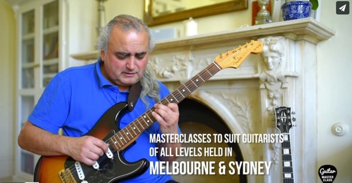 Melbourne Guitar masterclass, jazz, flamenco, blues