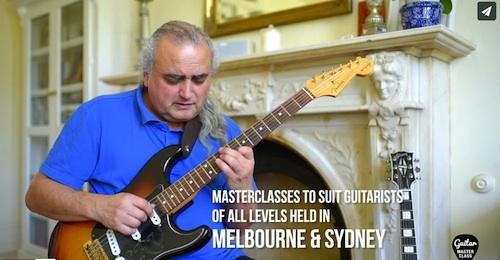 Melbourne Guitar masterclass
