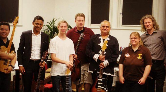 Jazz Guitar Masterclass Melbourne With Thomas Lorenzo