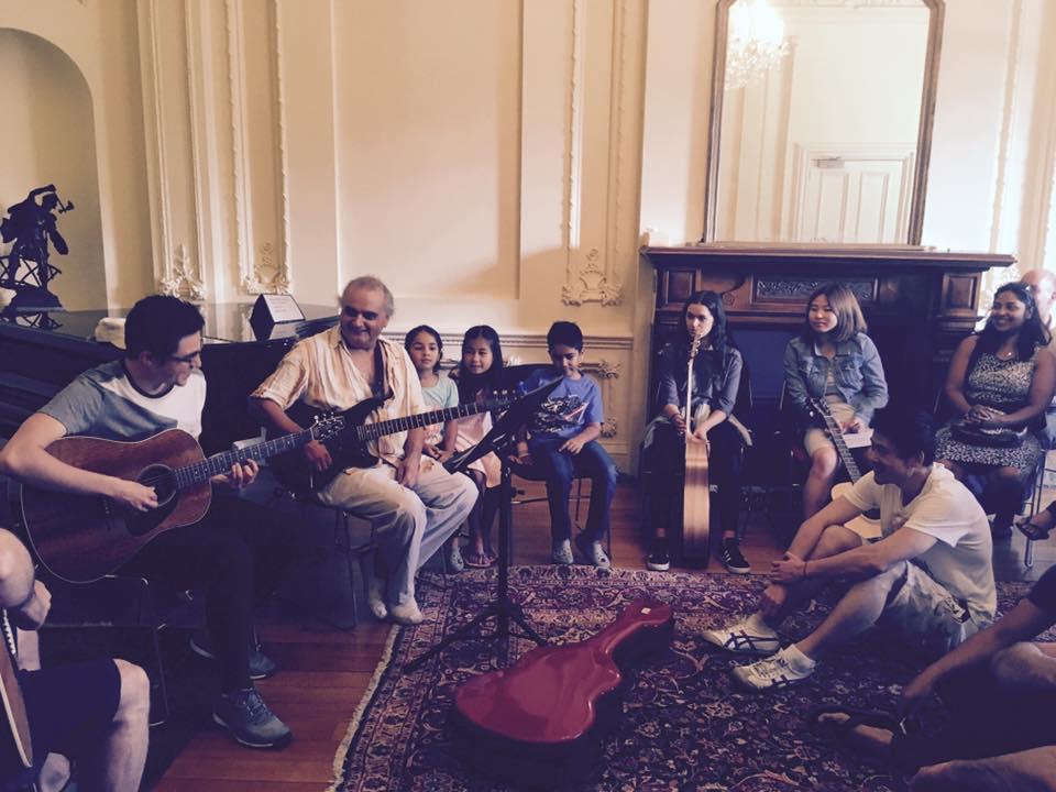 Melbourne Creative Guitar Social Club recital