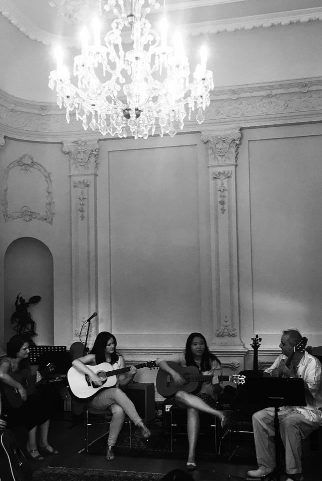 Melbourne Creative Guitar School event  at Melbourne University
