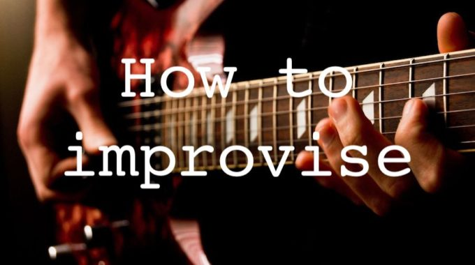 Guitar Improvisation Lessons