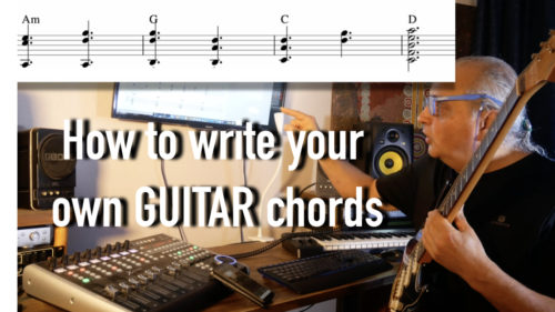 How To Write Your Own Guitar Chords