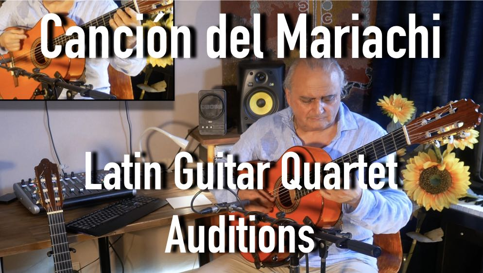 Latin Guitar Quartet Auditions