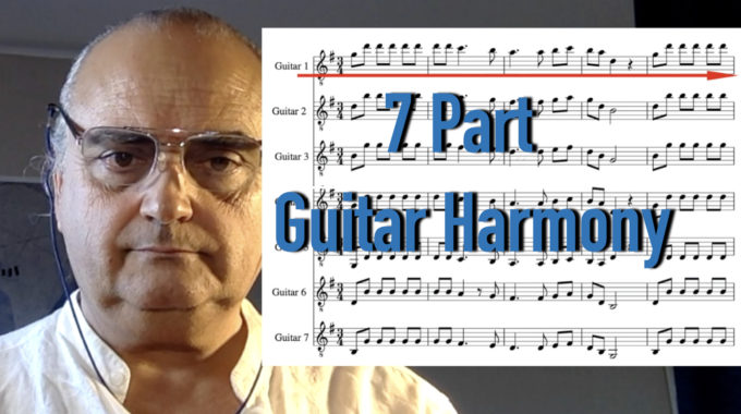 7 Part Guitar Harmony