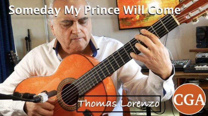 Someday My Prince Will Come. Jazz Guitar Improvisation