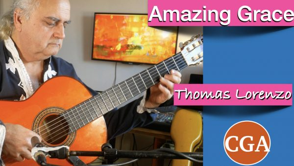 Amazing Grace, Solo Guitar, Fingerpicking