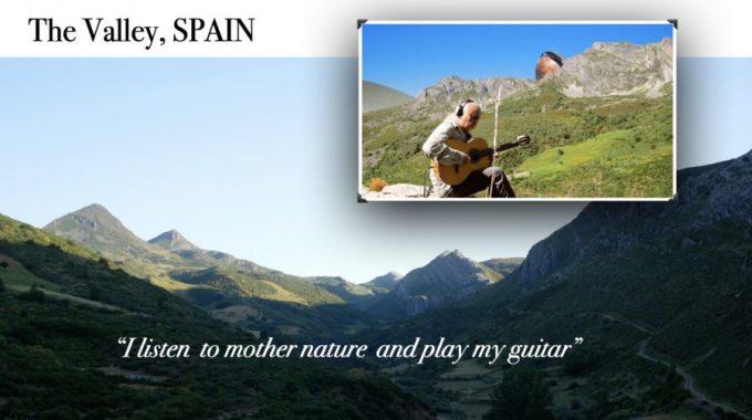 Guitar Improvisation In Leon , Spain